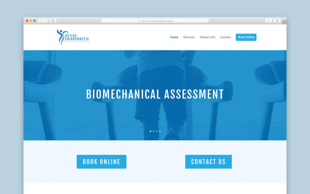 Active Chiropractic Website